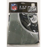 NFL 3' x 5' Team Helmet Flag Oakland Raiders by Fremont Die