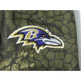 NFL NWT CAMOUFLAGED NO SLIP UTILITY WORK GLOVES - BALTIMORE RAVENS - CAMO