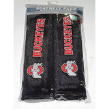 NCAA Ohio State Buckeyes Velour Seat Belt Pads 2 Pack by Fremont Die