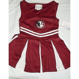 NCAA Florida State Seminoles Infant Cheer Dress 1-pc 4T Two Feet Ahead