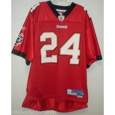 BLEMISHED NFL BUCCANEERS CADILLAC WILLIAMS #24 HOME COLORS REEBOK JERSEY ADULTXL