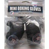 MLB Houston Astros 4 Inch Rear View Mirror Mini Boxing Gloves