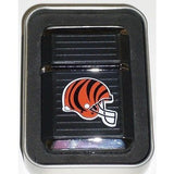NFL Cincinnati Bengals Refillable Butane Lighter w/Gift Box by FSO