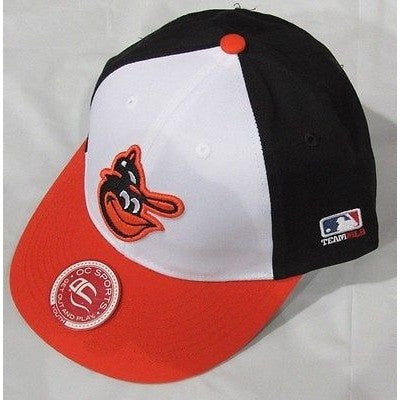MLB Baltimore Orioles Alt Logo Youth Cap Cooperstown Raised Replica Cotton Twill Hat
