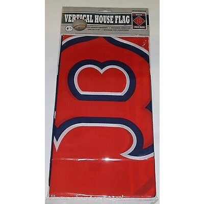MLB Boston Red Sox 28x40 Team Vertical House Flag