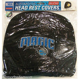 NBA Orlando Magic Headrest Cover Embroidered Logo Set of 2 by Team ProMark