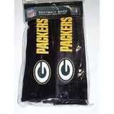 NFL Green Bay Packers Velour Seat Belt Pads 2 Pack by Fremont Die