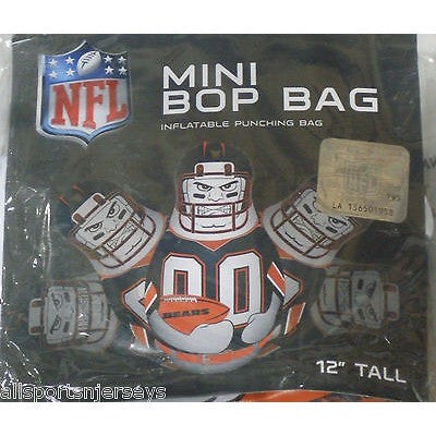 NFL Chicago Bears 12 Inch Mini Bop Bag by Fremont Die