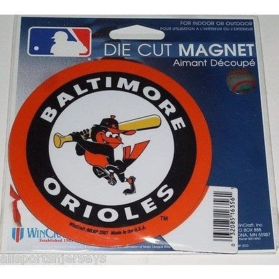 MLB Baltimore Orioles Alt Logo 4 inch Auto Magnet by WinCraft