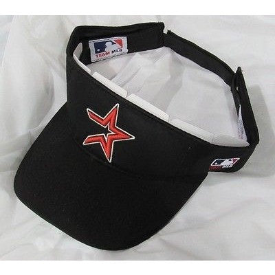 MLB Houston Astros Alt. Logo Visor Cotton Twill Replica Adjustable Strap Adult