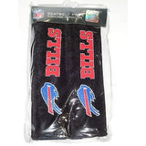 NFL Buffalo Bills Velour Seat Belt Pads 2 Pack by Fremont Die