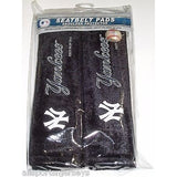 MLB New York Yankees Velour Seat Belt Pads 2 Pack by Fremont Die