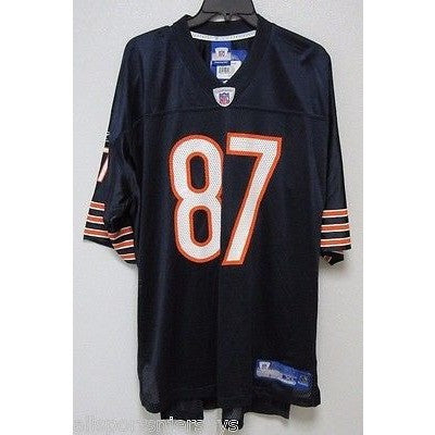 BLEMISHED NFL CHICAGO BEARS MUHAMMAD #87 HOME COLORS REEBOK JERSEY ADULT L