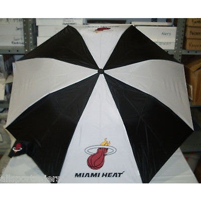 NBA Travel Umbrella Miami Heat By McArthur For Windcraft