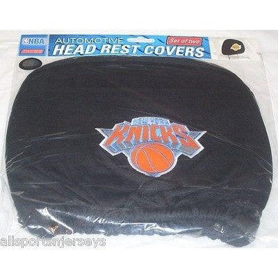 NBA New York Knicks Headrest Cover Embroidered Logo Set of 2 by Team ProMark
