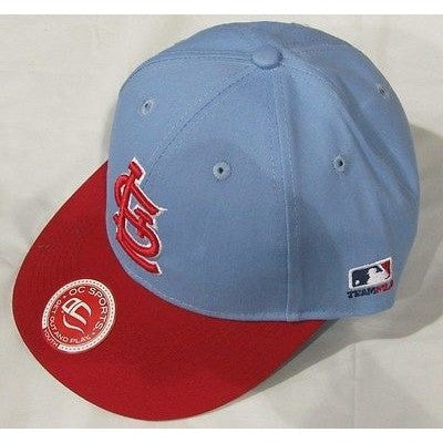 MLB St. Louis Cardinals Youth Cap Cooperstown Raised Replica Cotton Twill Hat