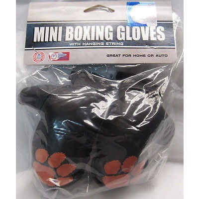NCAA Clemson Tigers 4 Inch Rear View Mirror Mini Boxing Gloves