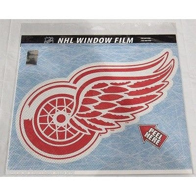 "NHL Detroit Red Wings Die-Cut Window Film Approx. 12"" by Fremont Die"
