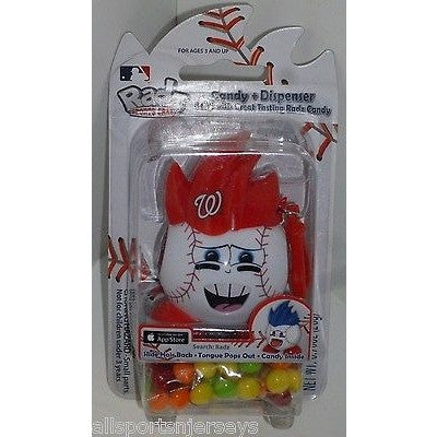 MLB Washington Nationals Radz Candy Dispenser .7oz