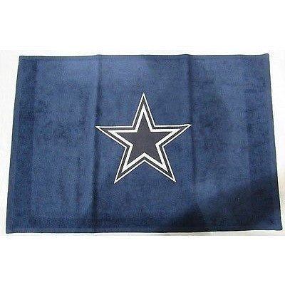 "NFL Dallas Cowboys Sports Fan Towel Navy 15"" by 25"" by WinCraft"