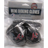 MLB Atlanta Braves 4 Inch Rear View Mirror Mini Boxing Gloves