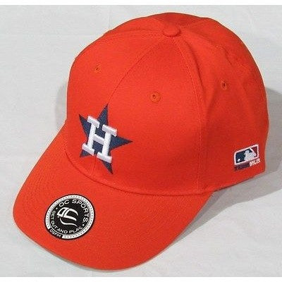 MLB Houston Astros Adult Cap Cooperstown Raised Replica Cotton Twill Hat