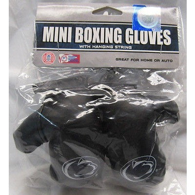 "NCAA 4"" REARVIEW MIRROR MINI BOXING GLOVES PENN STATE NITTANY LIONS"