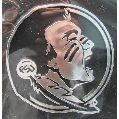 NCAA Florida State Seminoles 3-D Auto Team Chrome Emblem By Team ProMark