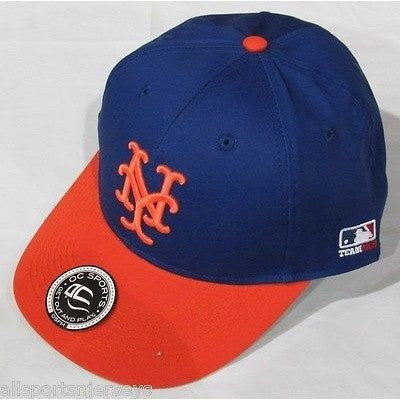 MLB New York Mets Adult Cap Cooperstown Raised Replica Cotton Twill Hat