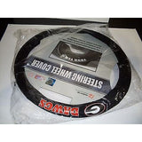 NCAA POLY-SUEDE MESH STEERING WHEEL COVER GEORGIA BULLDOGS