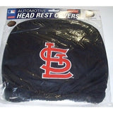 MLB St. Louis Cardinals Headrest Cover Embroidered Logo Set of 2 by Team ProMark
