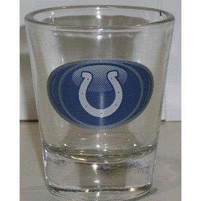 NFL Indianapolis Colts Logo in Oval Standard 2 oz Shot Glass by Hunter