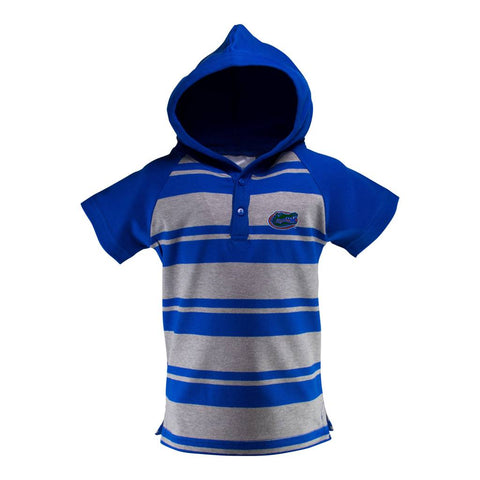 NCAA Florida Gators Logo on Hooded T-Romper by Two Feet Ahead