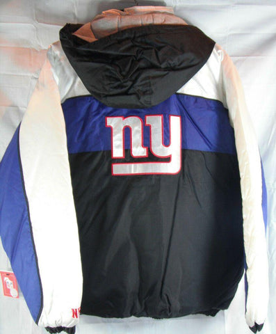 NFL New York Giants Zip-Up Hooded Jacket size Men's Large
