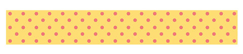 "Siconi Collection Sticky Strip Polka Dot 1"" wide 59"" long by SiliconeZone Group"