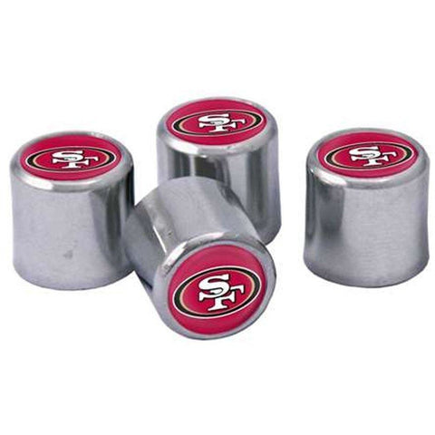 NFL Chrome Tire Valve Stem Caps by Stockdale Technologies / WinCraft
