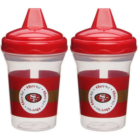NFL San Francisco 49ers Toddlers Sippy Cup 5 oz. 2-Pack by baby fanatic