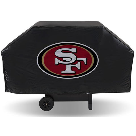 NFL San Francisco 49ers 68 Inch Vinyl Economy Gas / Charcoal Grill Cover