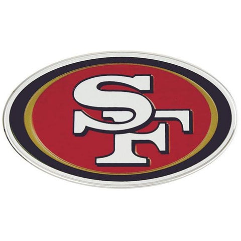 NFL San Francisco 49ers 3-D Color Logo Auto Emblem By Team ProMark