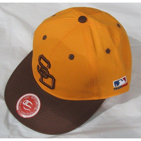 MLB San Diego Padres Youth Cap Cooperstown Raised Replica Cotton Twill Hat