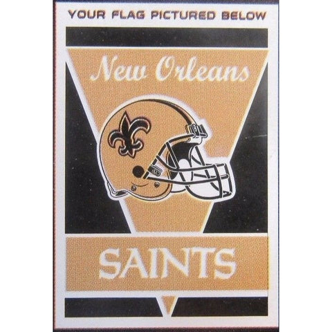 "NFL New Orleans Saints 28""x40"" Team Vertical House Flag 1 Sided"