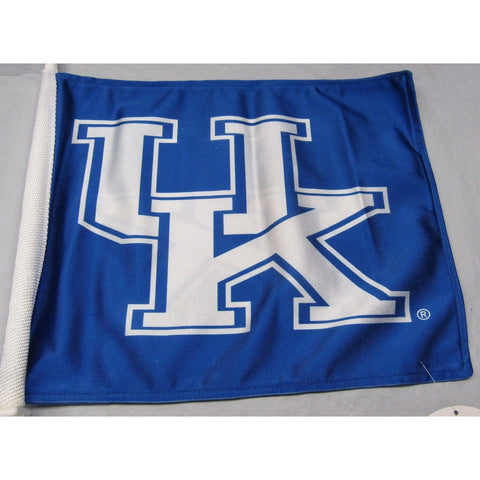 NCAA Kentucky Wildcats Logo on Window Car Flag by Fremont Die