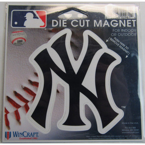 MLB New York Yankees Logo 4 inch Auto Magnet by WinCraft