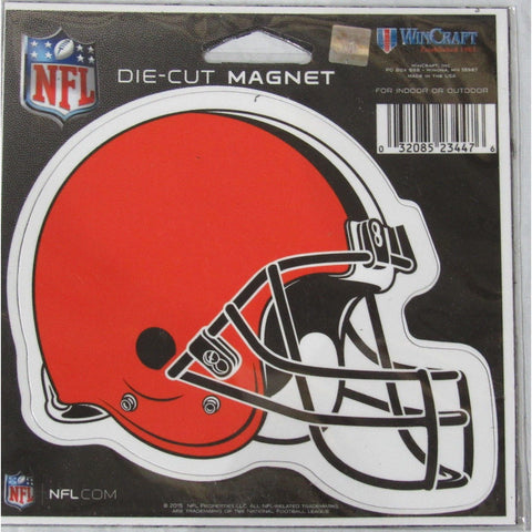 NFL Cleveland Browns Helmet 4 inch Auto Magnet by WinCraft