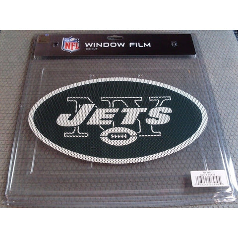 "NFL New York Jets Die-Cut Window Film Approx. 12"" by Fremont Die"