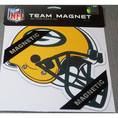 NFL Green Bay Packers 8 Inch Auto Magnet Die Cut Helmet by Fremont Die