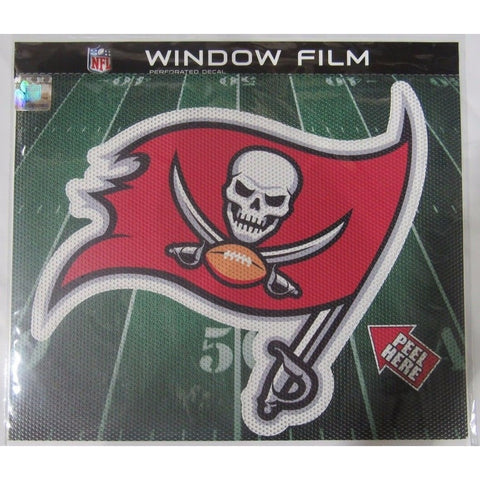 "NFL Tampa Bay Buccaneers Die-Cut Window Film Approx. 12"" by Fremont Die"