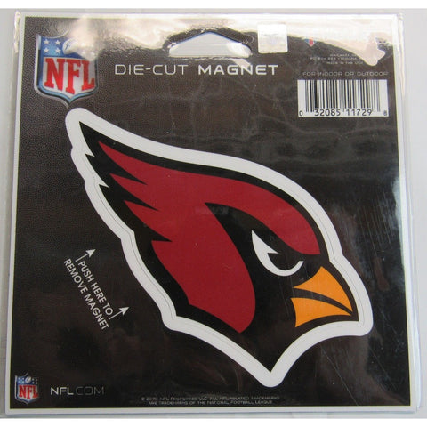 NFL Arizona Cardinals Logo 4 inch Auto Magnet by WinCraft