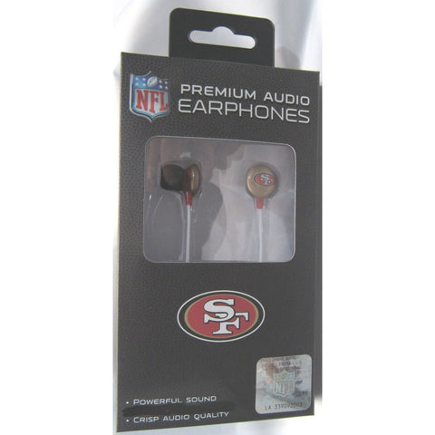 NFL iHip Team Logo Earphones San Francisco 49ers