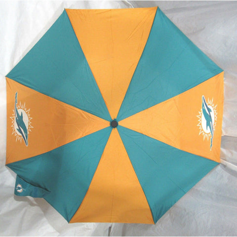 NFL Travel Umbrella Miami Dolphins By McArthur For Windcraft